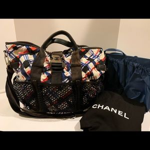 Chanel airline collection baby diaper bag RARE